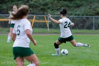 7577 Girls Soccer v Life-Chr 092313