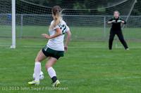 7584 Girls Soccer v Life-Chr 092313