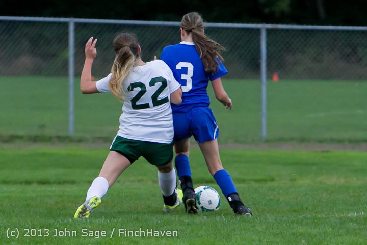 7598 Girls Soccer v Life-Chr 092313
