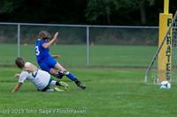 7602 Girls Soccer v Life-Chr 092313