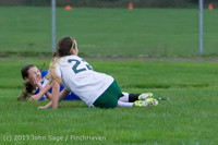 7607 Girls Soccer v Life-Chr 092313