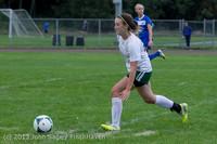7617 Girls Soccer v Life-Chr 092313