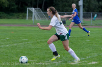 7619 Girls Soccer v Life-Chr 092313
