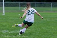 7623 Girls Soccer v Life-Chr 092313