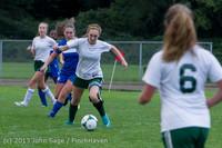 7631 Girls Soccer v Life-Chr 092313