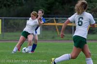 7648 Girls Soccer v Life-Chr 092313