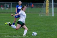 7662 Girls Soccer v Life-Chr 092313