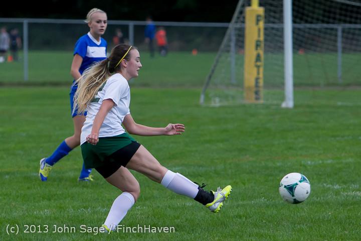 7664 Girls Soccer v Life-Chr 092313