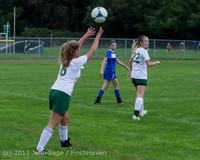 7687 Girls Soccer v Life-Chr 092313