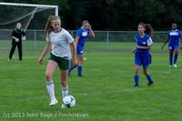 7694 Girls Soccer v Life-Chr 092313