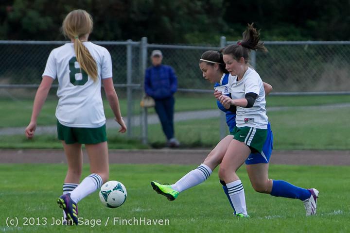 7698 Girls Soccer v Life-Chr 092313