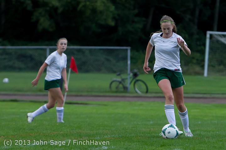 7713 Girls Soccer v Life-Chr 092313