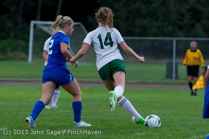 7721 Girls Soccer v Life-Chr 092313