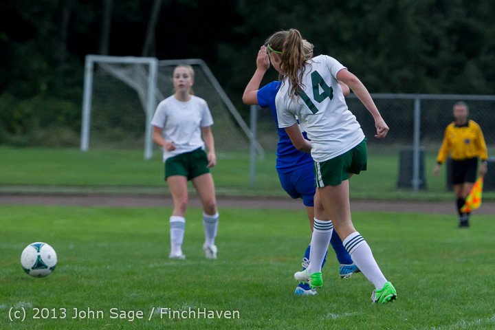 7725 Girls Soccer v Life-Chr 092313