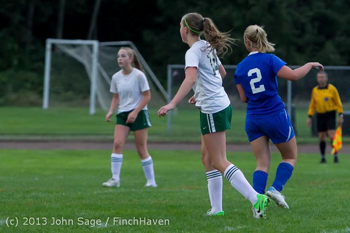 7728 Girls Soccer v Life-Chr 092313