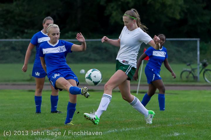 7732 Girls Soccer v Life-Chr 092313