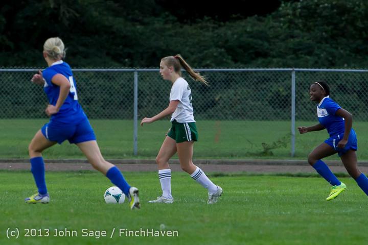 7759 Girls Soccer v Life-Chr 092313