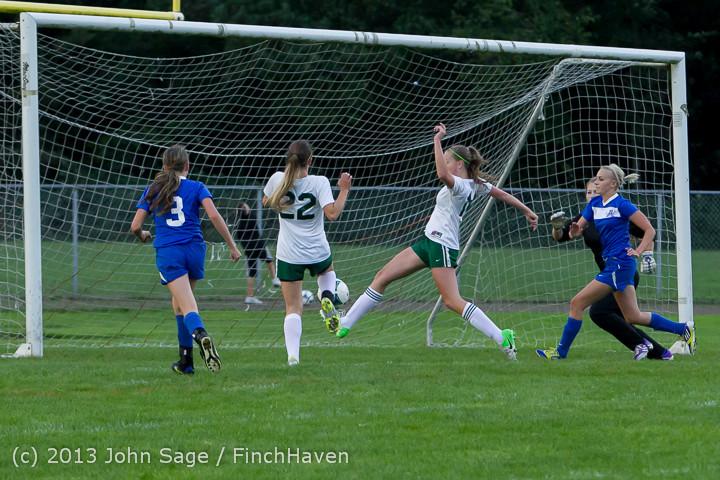 7788 Girls Soccer v Life-Chr 092313