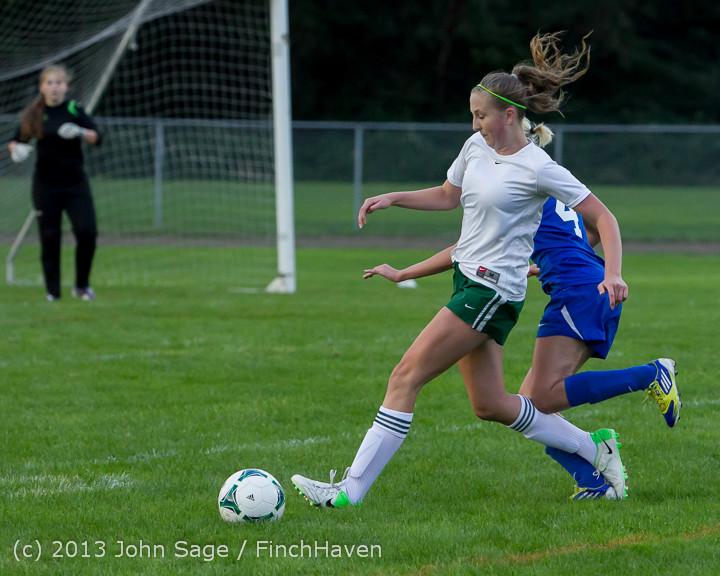 7803 Girls Soccer v Life-Chr 092313