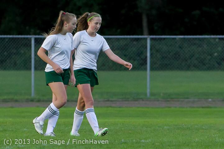 7933 Girls Soccer v Life-Chr 092313