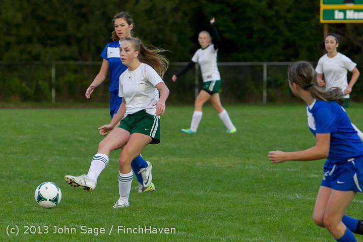 7948 Girls Soccer v Life-Chr 092313