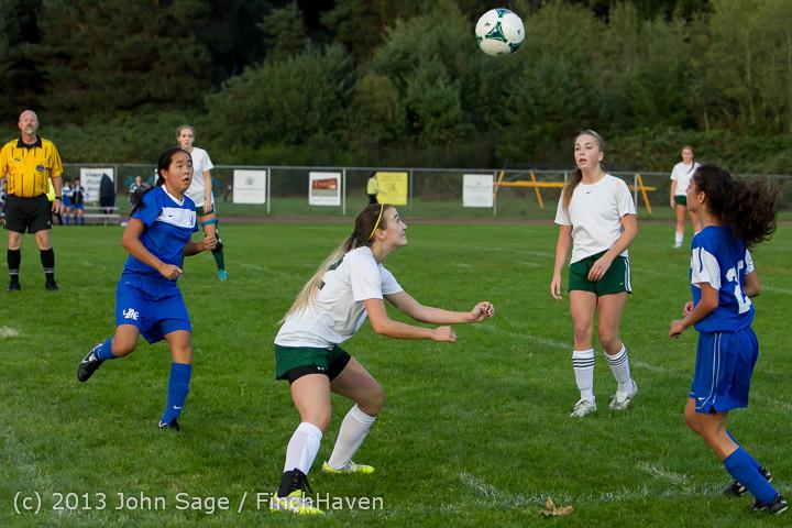 7994 Girls Soccer v Life-Chr 092313