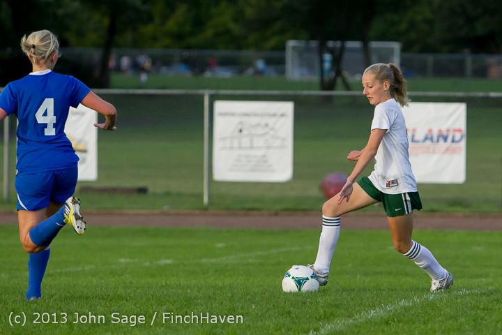 8015 Girls Soccer v Life-Chr 092313