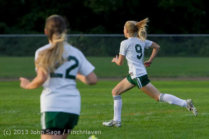 8029 Girls Soccer v Life-Chr 092313