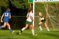 8063 Girls Soccer v Life-Chr 092313