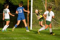 8066 Girls Soccer v Life-Chr 092313