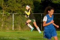 8072 Girls Soccer v Life-Chr 092313