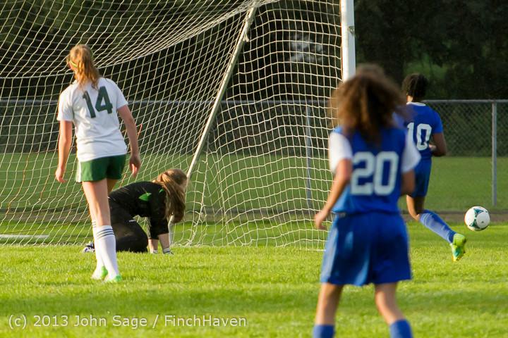 8104 Girls Soccer v Life-Chr 092313
