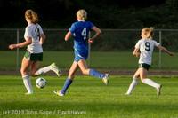 8118 Girls Soccer v Life-Chr 092313