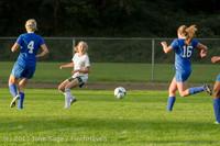 8126 Girls Soccer v Life-Chr 092313