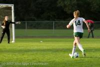 8135 Girls Soccer v Life-Chr 092313