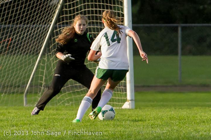 8151 Girls Soccer v Life-Chr 092313