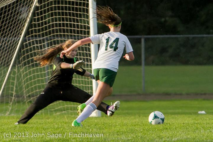 8154 Girls Soccer v Life-Chr 092313