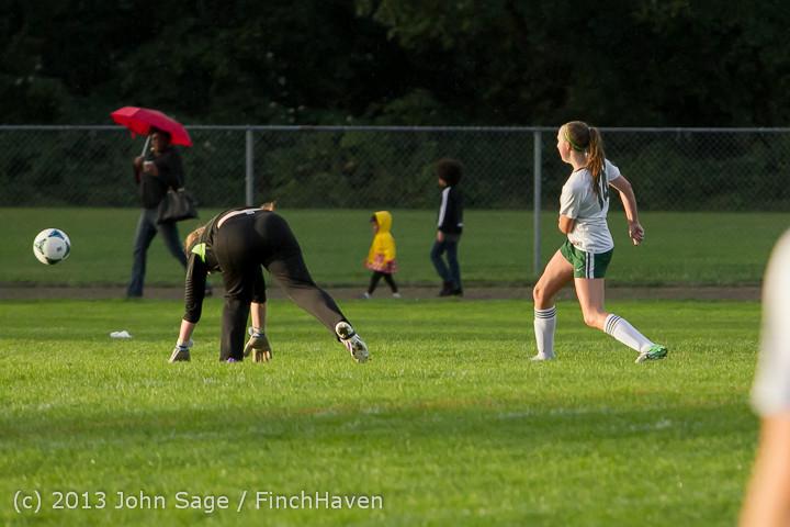 8169 Girls Soccer v Life-Chr 092313