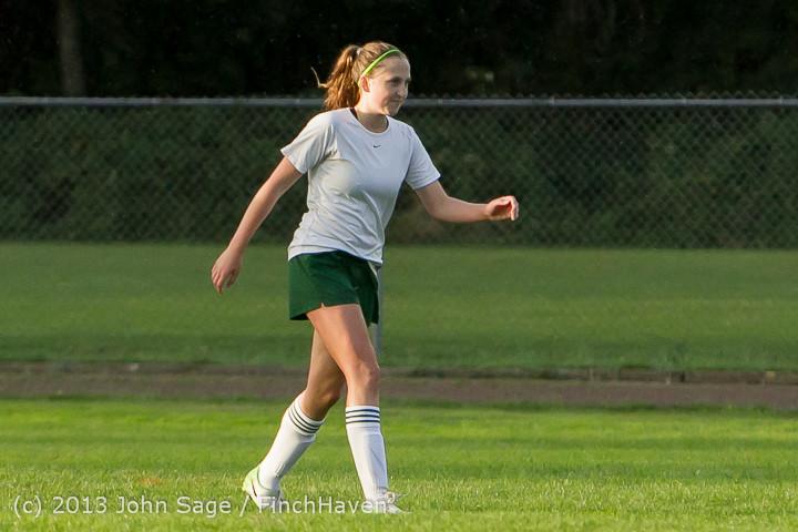 8173 Girls Soccer v Life-Chr 092313