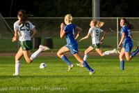 8179 Girls Soccer v Life-Chr 092313