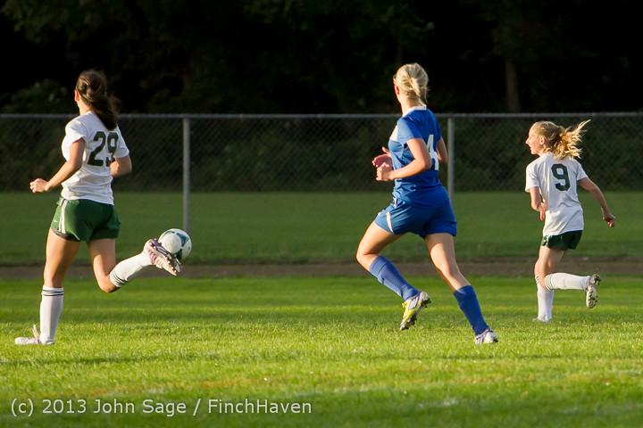8190 Girls Soccer v Life-Chr 092313