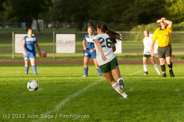 8218 Girls Soccer v Life-Chr 092313