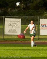 8229 Girls Soccer v Life-Chr 092313