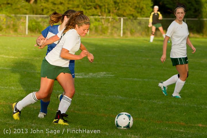 8251 Girls Soccer v Life-Chr 092313