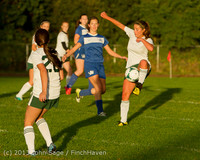 8262 Girls Soccer v Life-Chr 092313