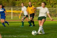 8265 Girls Soccer v Life-Chr 092313