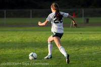 8269 Girls Soccer v Life-Chr 092313