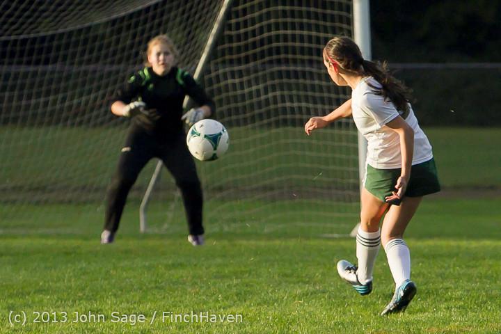 8279 Girls Soccer v Life-Chr 092313