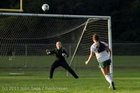 8282 Girls Soccer v Life-Chr 092313