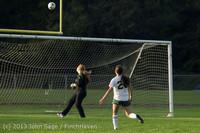 8287 Girls Soccer v Life-Chr 092313
